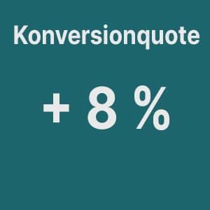 Ergebnis Make Up Radierer Konversionquote
