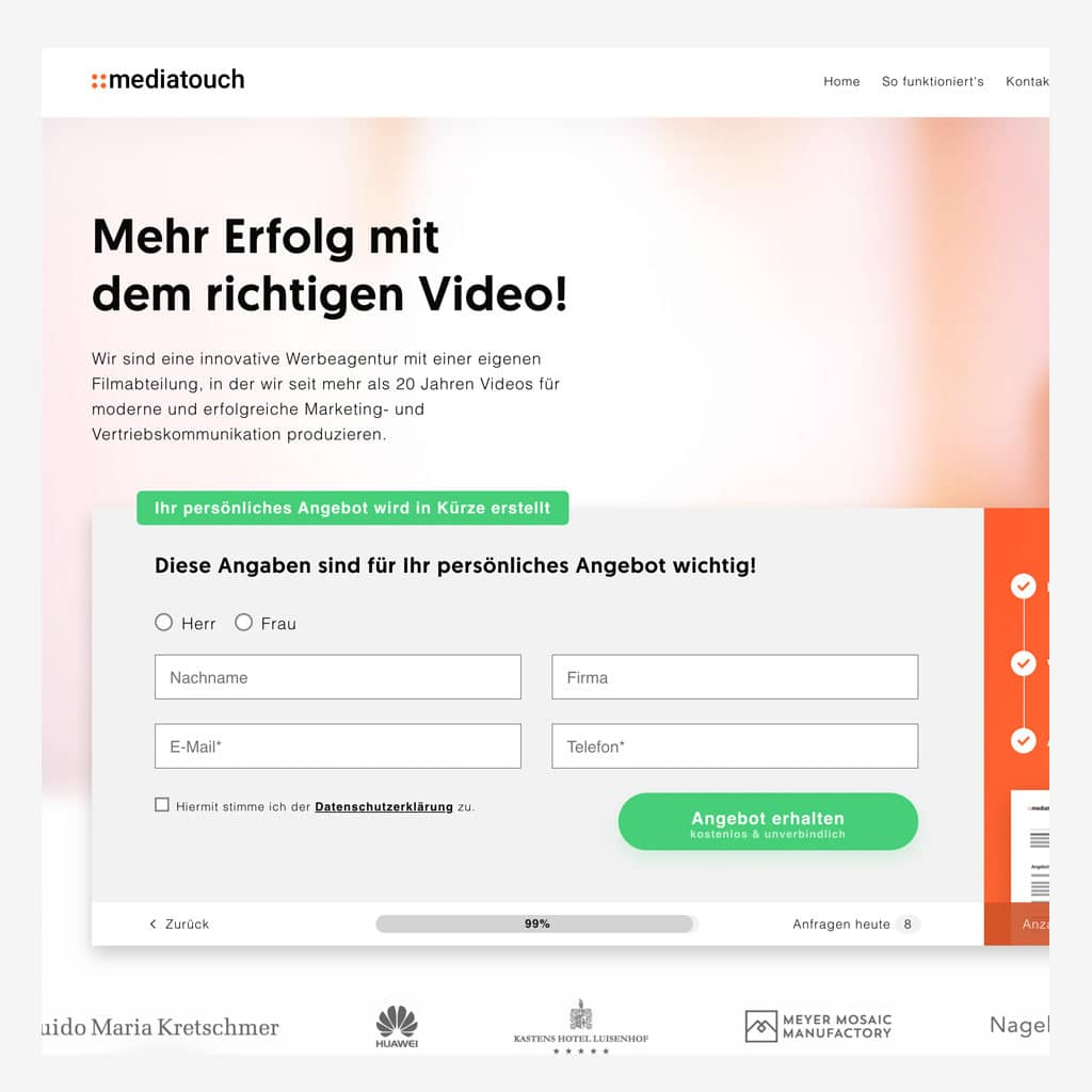 Mediatouch Checkout
